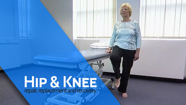 Hip Flexion in Standing