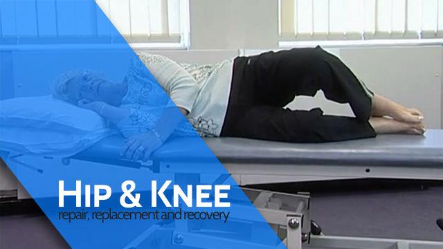 Side Lying Hip Rotation